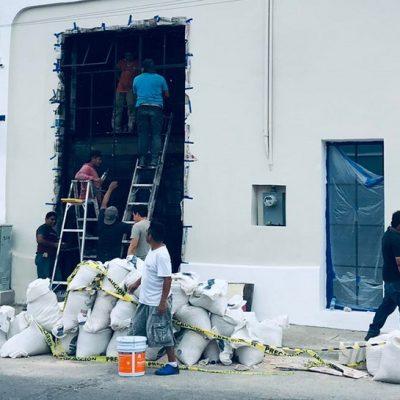 Detectan ilegal obra en predio del barrio de Santa Ana, sin licencia municipal ni federal