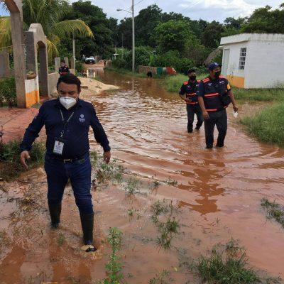Gobierno del Estado atiende a comunidades afectadas por las lluvias en el sur de Yucatán