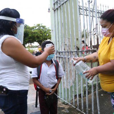 Escasa afluencia en el regreso a clases presenciales en Mérida