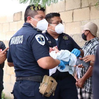 Aparecen supuestos padres del bebé abandonado en el sur de Mérida