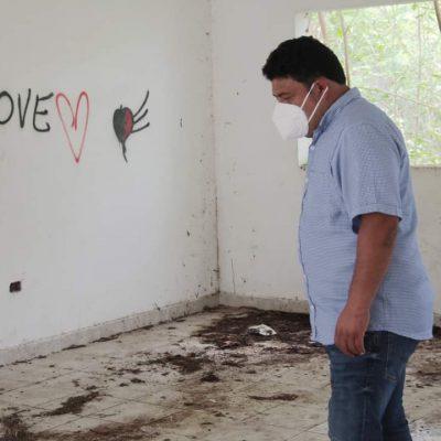 El año de hidalgo devastó centros comunitarios de Kanasín