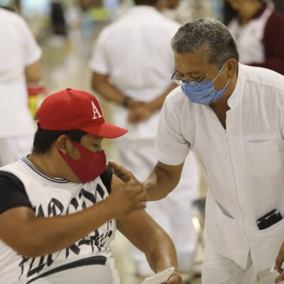 En Yucatán ya se aplicaron más de dos millones de vacunas contra Covid-19