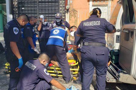 La muerte propina zarpazo a peatón en céntricas calles de Mérida