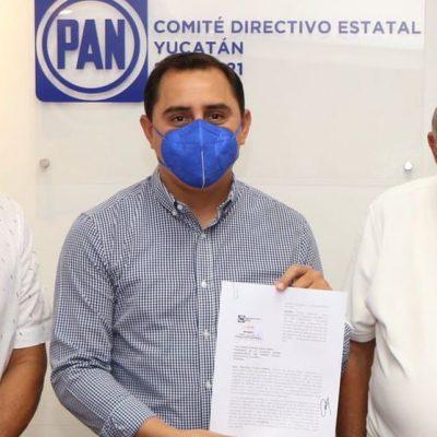 Asís Cano va por la reelección en el comité estatal del PAN