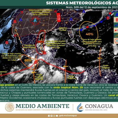 Se aleja el mal tiempo de la Península de Yucatán