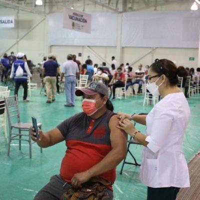 Comienza la aplicación de segundas dosis a personas de 30 a 39 años en Mérida