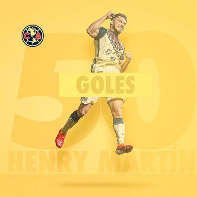 Henry Martín llega a 50 goles con el América