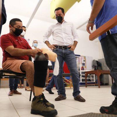Yucatán, proveedor de prótesis y ortesis en la Península y hasta de Belice, Guatemala y Honduras