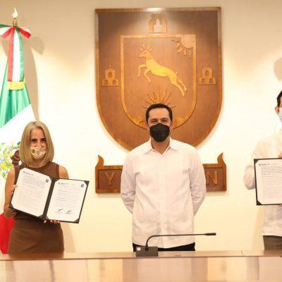 Gobierno del Estado y Fundación Coppel impulsan la reactivación económica de Yucatán