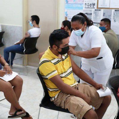 Aplicarán segunda dosis a personas de 30 a 39 años de nueve municipios en Yucatán