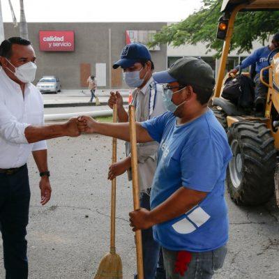 Renán Barrera ofrece garantizar mayor infraestructura urbana y calidad de vida en Mérida