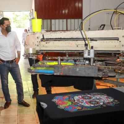 Con apoyo del gobernador Mauricio Vila, su negocio de serigrafía ya pinta mejor pese a la pandemia