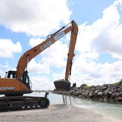 Comienzan trabajos de dragado en puertos pesqueros de Yucatán