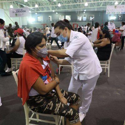 Completan esquema contra Covid-19 a meridanos vacunados con Pfizer