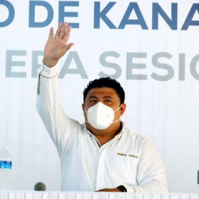 Edwin Bojórquez se compromete a impulsar el crecimiento equilibrado y sustentable de Kanasín