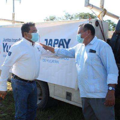 Al rescate del sistema de agua de pequeño poblado del oriente de Yucatán