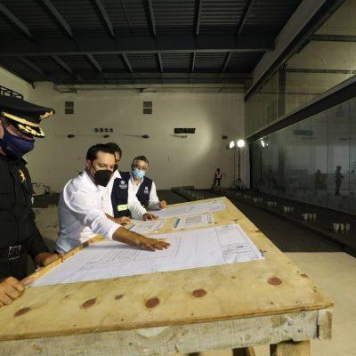 Avanza la construcción del Centro de Control, Comando, Comunicaciones, Cómputo, Coordinación e Inteligencia (C5i) de Yucatán