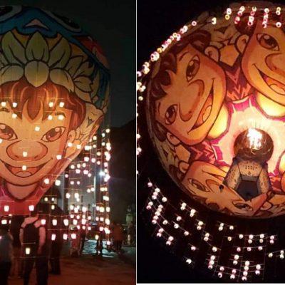 Surcan los cielos de Yucatán Lilo y Stich y hasta un mensaje de esperanza ante el Covid-19