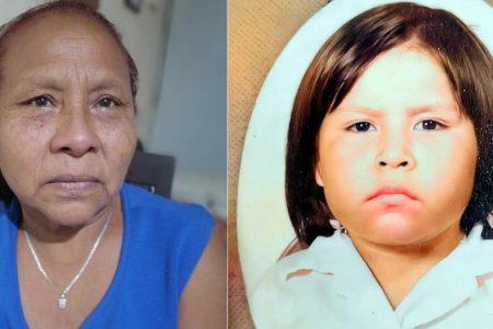 Busca en Yucatán a su hija robada hace casi 40 años en un kínder de Veracruz