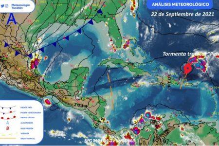 Comienza el otoño con tormentas en la Península de Yucatán