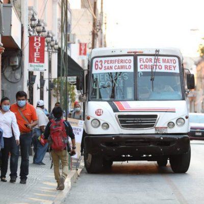 Acercarán paraderos y redistribuirán maceteros en el centro histórico de Mérida