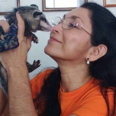 Fallece la activista Rosario Sosa Parra, gran defensora de la zarigüeya en Yucatán