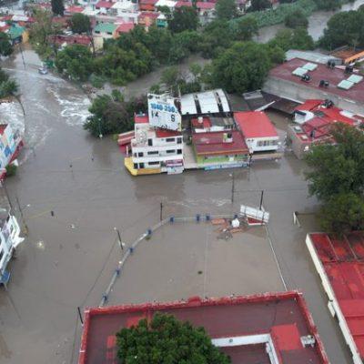 Desalojan a miles en Hidalgo por nueva amenaza de desbordamiento del Río Tula