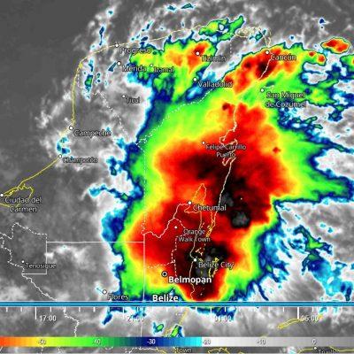 Altas probabilidades de lluvia por la tarde en Yucatán: baja presión atraviesa la Península