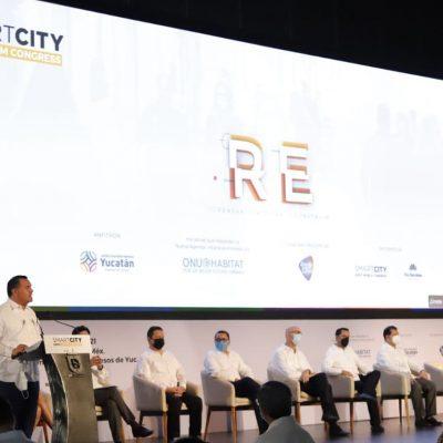Mérida avanza firme para ser una ciudad Inteligente y sostenible, afirma el alcalde Renán Barrera