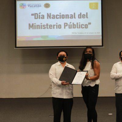 Fiscalía de Yucatán conmemora el Día Nacional del Ministerio Público