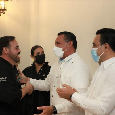 El chef David Cetina, embajador gastronómico de Mérida