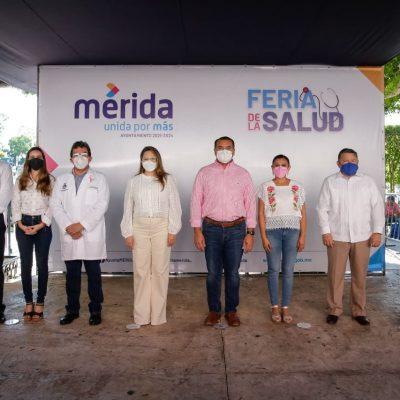 El Ayuntamiento de Mérida reactiva la Feria de la Salud en la Plaza Grande