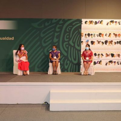 Programas de la Secretaría de las Mujeres de Yucatán destacan a nivel nacional