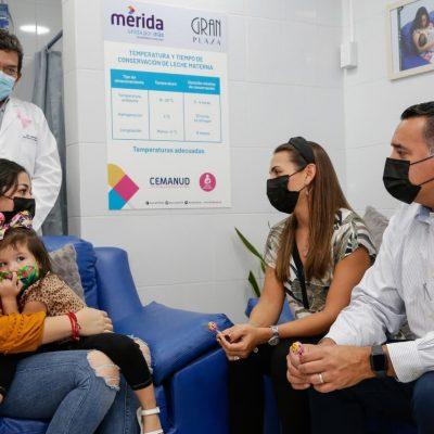 El Ayuntamiento de Mérida seguirá fomentando la instalación de más lactarios en el Municipio