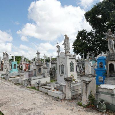En marcha el mantenimiento en los cementerios de Mérida
