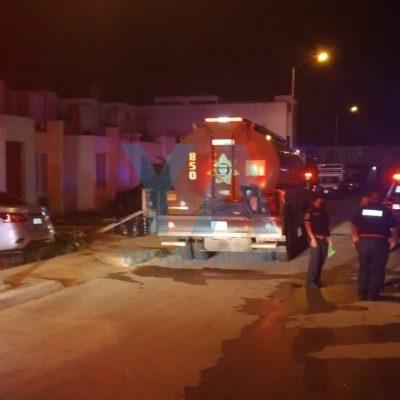 Se quemaba su casa y él seguía durmiendo: lo rescatan bomberos