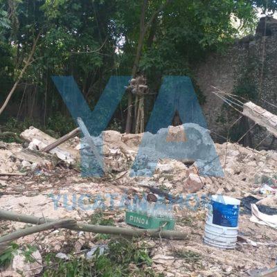 Encuentran osamenta humana en una casa del centro de Mérida