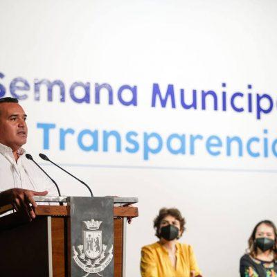 La transparencia, herramienta vital para el desarrollo sostenible de Mérida: Renán Barrera