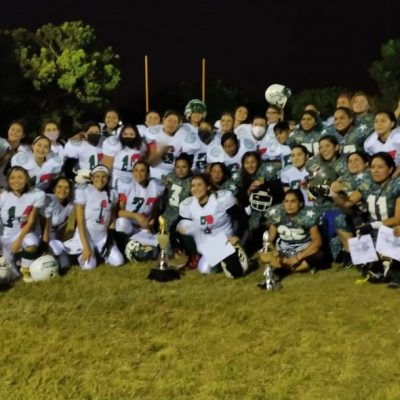 Gran victoria yucateca en el Tazón Independencia de futbol americano femenil