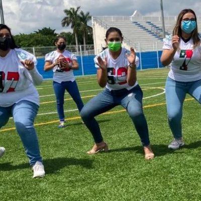 """El fútbol americano femenil tendrá su """"kickoff"""" en Yucatán, rumbo al Americas Women's Bowl 202"""