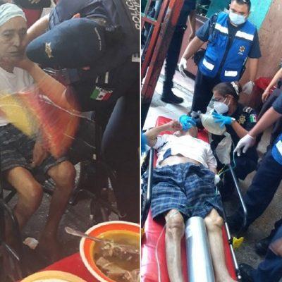 Paramédicos le arrebatan de las manos a la muerte a un comensal, en el Lucas de Gálvez