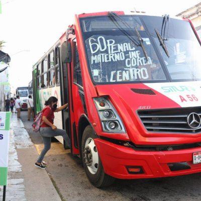 Sin contratiempos transcurre segunda jornada con nuevos paraderos del transporte público