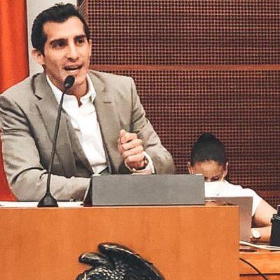 Presenta Rommel Pacheco iniciativa de reforma a la ley general de cultura física y deporte