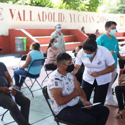 Personas de 30 a 39 años de Valladolid completan su esquema de vacunación contra Covid-19