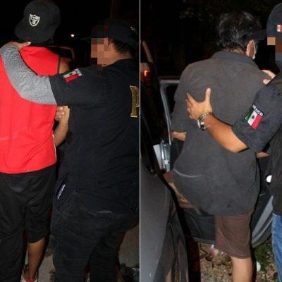 Catean 'narcotiendita' en la Azcorra: dos detenidos