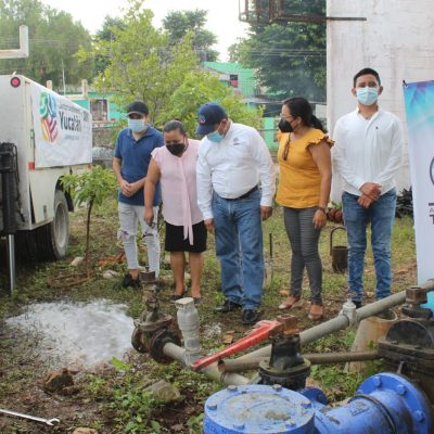 Habitantes de Tahmek tendrán mejor servicio de agua potable