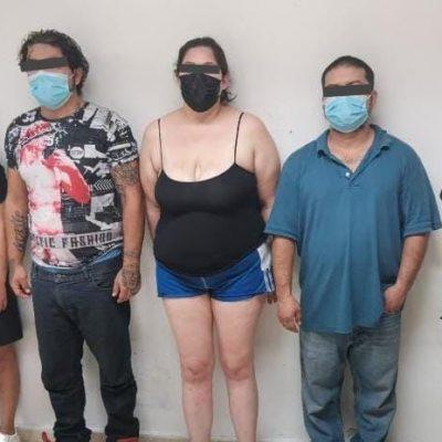 Confirma SSP detención de asesinos de un velador: son dos michoacanos y dos mujeres de Baja California