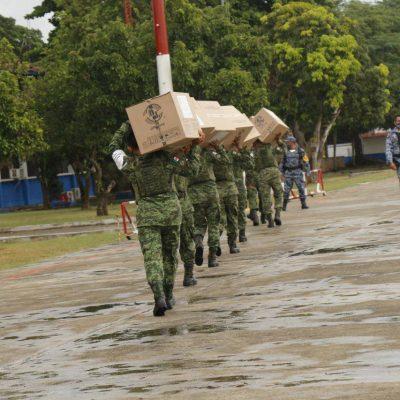 Llega a Yucatán nuevo cargamento con 260,000 vacunas contra Covid-19
