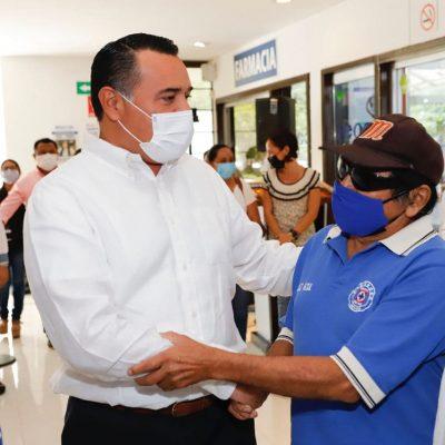 Para construir una Mérida saludable es importante la participación de la sociedad: Renán Barrera