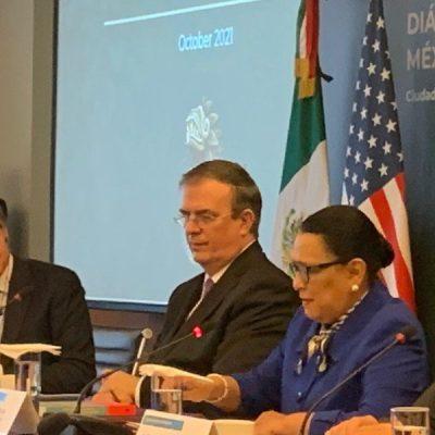 México y Estados Unidos dan a conocer declaración conjunta por Diálogo de Alto Nivel